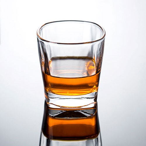 Crystal Whiskey Glass Shaped for Improving Tasting and Aroma of Spirits Crystal Clear Glassware