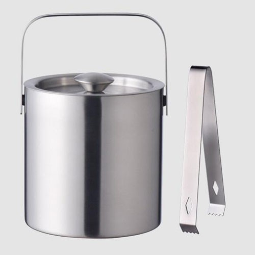 High quality ice buckets with ice tong